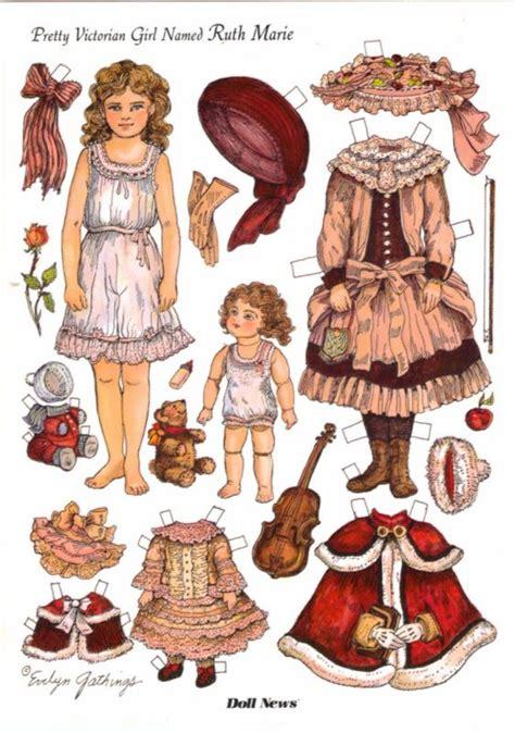 printable victorian paper dolls 1009 best paper dolls victorian vintage images on