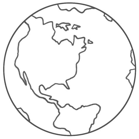 coloring page of globe planet earth coloring page earth day library ideas