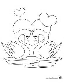 in loving color swan coloring pages hellokids