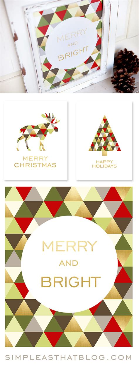 merry bright christmas printables for framing merry bright christmas printables for framing