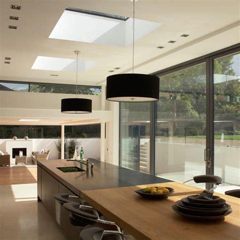 Open Plan Kitchen Design Ideas Ideal Home Kitchen Diner Lighting