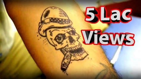 fake tattoo using pen how to make temporary tattoo at home youtube