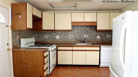 can laminate kitchen cabinets be painted can i paint over laminate kitchen cabinets redoing
