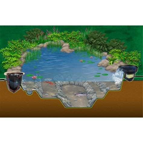 Aquascape Micropond Kit by Aquascape 6x8 Micropond Kit