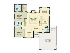 ranch plans with open floor plan eplans ranch house plan open floor ranch 1552 square and 2 bedrooms from eplans house