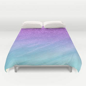 ombre bedding duvet cover made to order glitter from pink fox designs