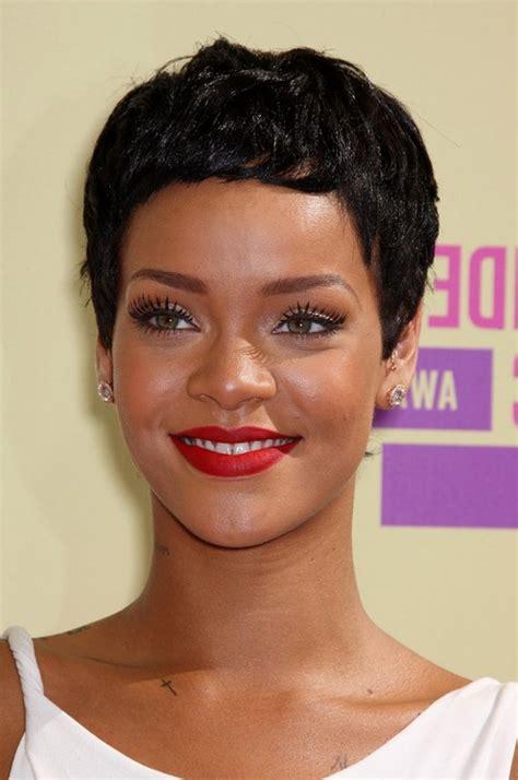 boy cuts for black women rihanna short black curly boy cut for black women styles