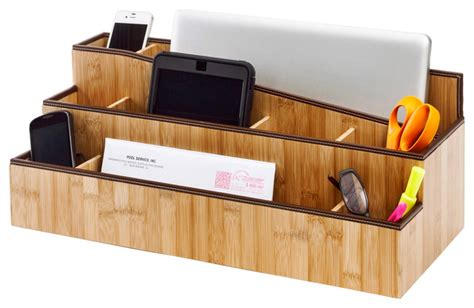 Contemporary Desk Organizers Desktop Charging Station And Organizer Contemporary Charging Stations By Great Useful Stuff