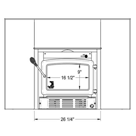 small wood burning stove fireplace insert century heating small wood burning insert cw2500