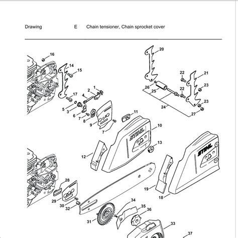 chainsaw diagram breathtaking chainsaw parts diagram photos best image