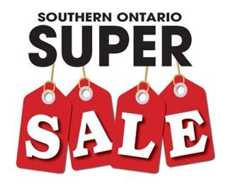 Sale Now On Superwide southern ontario sale