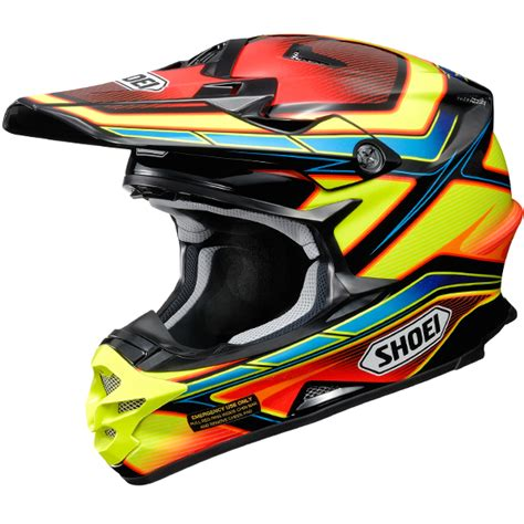 shoei motocross helmet 2017 shoei vfxw helmet capacitor multicolour tc3