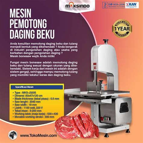 Mesin Pemotong Daging Jual Mesin Bonesaw Mks J320s Pemotong Daging Dan Tulang