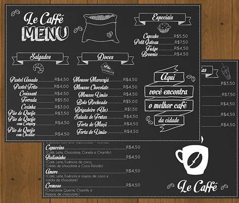 layout de um cafe digital card 225 pio menu cafeteria ag 234 ncia onzee