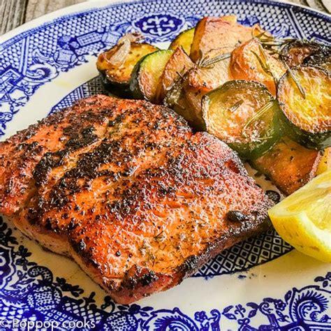 printable salmon recipes easy blackened salmon dinner 20 minutes gluten free