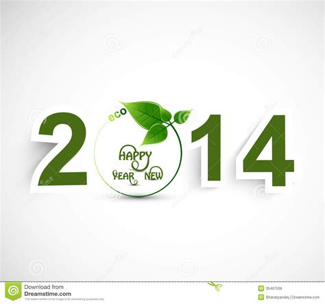 new year green happy new year 2014 green colorful background royalty free