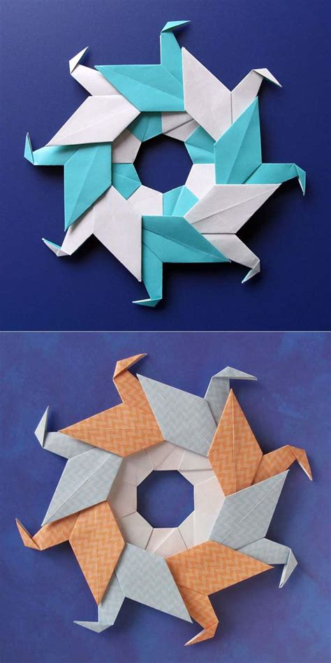 Modular Origami Models - best 25 origami diagrams ideas on