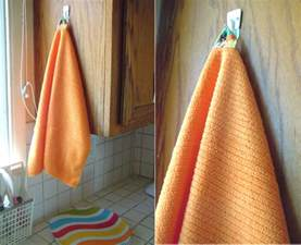 bath towels with hanging loops naturally creative tutorial how to make a