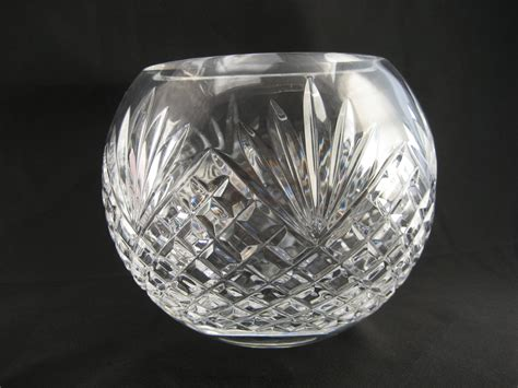 Chrystal Vase by Vintage Glass Vase Bowl Flower Vase