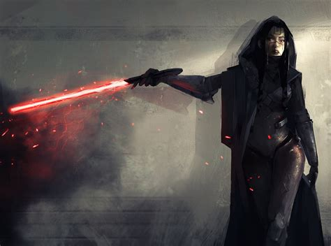 star wars fan art female sith star wars fan art by kevin macio geektyrant