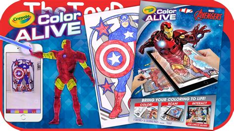 color alive marvel crayola color alive coloring pages
