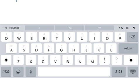 keyboard tutorial ios how to use ios 11 s new ipad keyboard and uninstall it if
