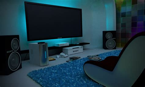 cool gaming bedrooms 25 incredible video gaming room designs home design and