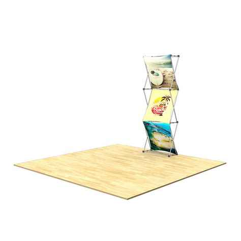 floor display 3d 1x3 3d snap floor display layout 2 impact displays