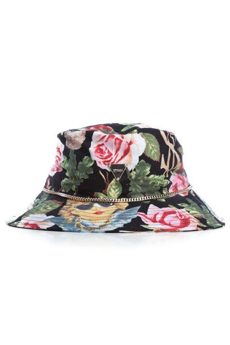 Floral Hat angelic rich floral hat black joyrich store