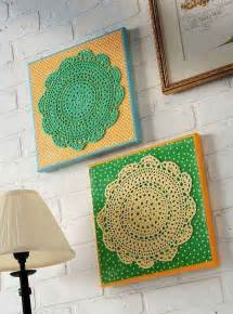 Make Your Own Artwork For Home Decor Inexpensive Diy Wall Decor Ideas And Crafts