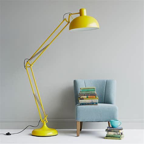 Anglepoise Desk Lamp Yellow Floor Lamp Modern Floor Lamps London By