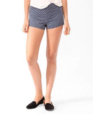 Hotpant Denim Polkadot 8 On Trend And Affordable Denim Shorts Fashion