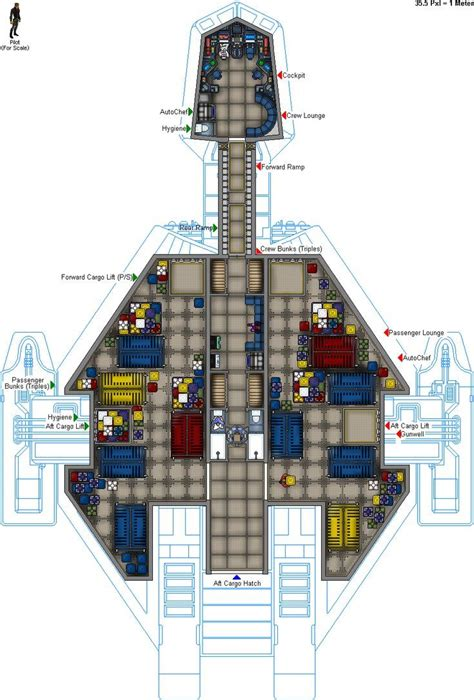 spaceship floor plans gn gtr 440 s by colonialchrome deviantart com on