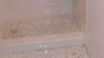 Pipe Bench How To Tile A Shower
