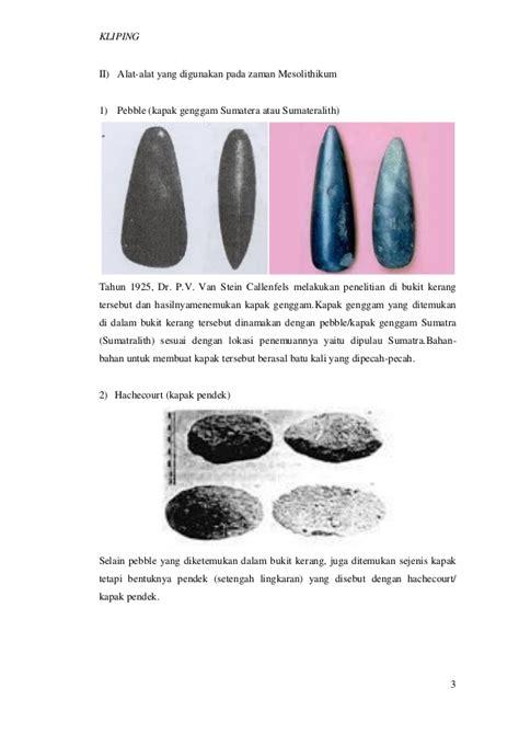 Kapak Berburu alat yang digunakan pada zaman batu dan zaman logam kliping oleh nand