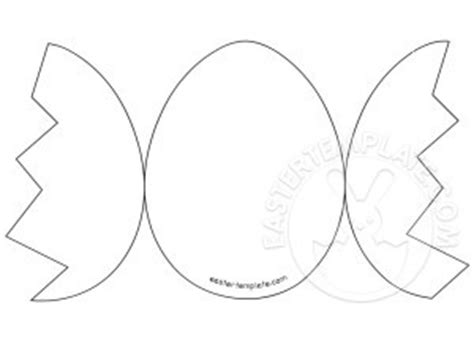 egg templates for cards easter card template easter template