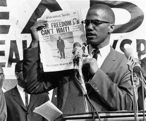 Picture Post Nation 21 by Malcolm X Muses It The List