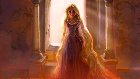 painting rapunzel the of tangled