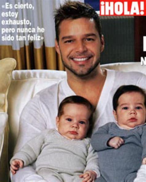 Ricky Martin presenta a sus hijos Valentino y Matteo   El ... Mama De Los Hijos De Ricky Martin