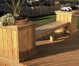 deck planter bench pdf diy deck planter bench plans delta