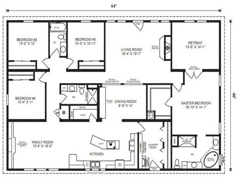 5 bedroom ranch house plans home interior plans ideas 5 bedroom modular homes floor plans fresh pennwest homes