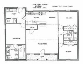 Large 2 Bedroom House Plans by 2 Bedroom Floor Plan Rectangle Designs Trend Home Design