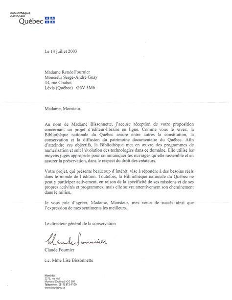Exemple De Lettre De Remerciement à Un Ministre Exemple De Lettre A Un Ministre
