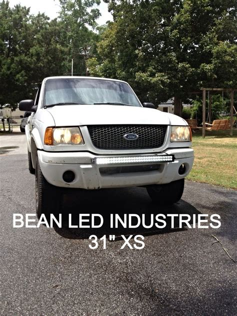 Ford Ranger With Light Bar by A Ford Ranger With A 31 Quot Xtreme Series Led Light Bar From