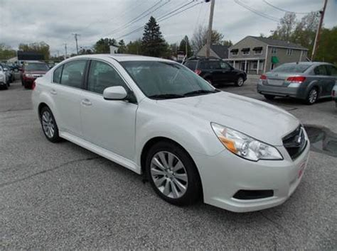 2011 Subaru Legacy For Sale Used 2011 Subaru Legacy For Sale In Maine Carsforsale