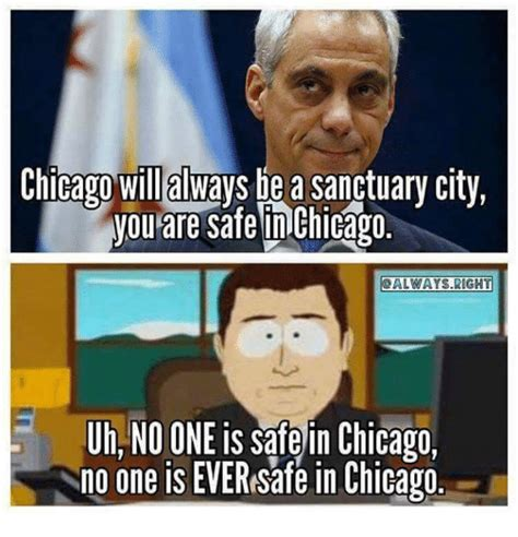 Chicago Memes Facebook - chicago wil always be a sanctuary city you are safe