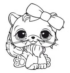 littlest pet shop coloring page free cats lps coloring pages