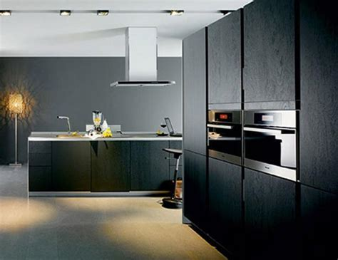 25 Black Kitchen Design Ideas Creating Balanced Interior Black Kitchen Design