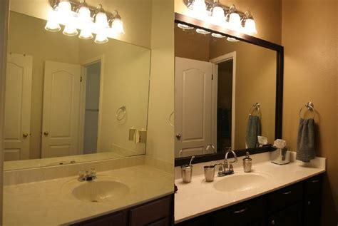 Bathroom Mirror Frames And How To Get Them Custom Made Custom Framed Mirrors For Bathrooms