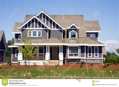 large country homes new large country house royalty free stock image image